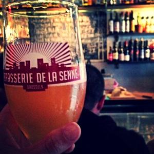 Cette bière a sauvé ma soirée post-quintessence au Moeder Lambic Fontainas.